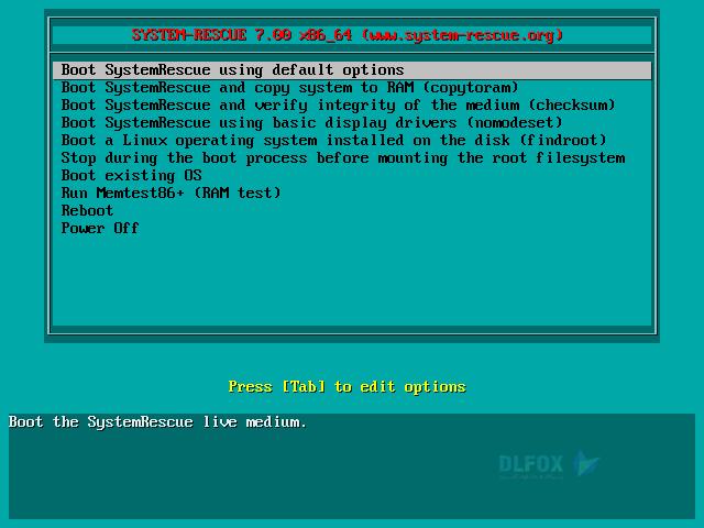 دانلود نسخه نهایی نرم افزار SystemRescue برای PC