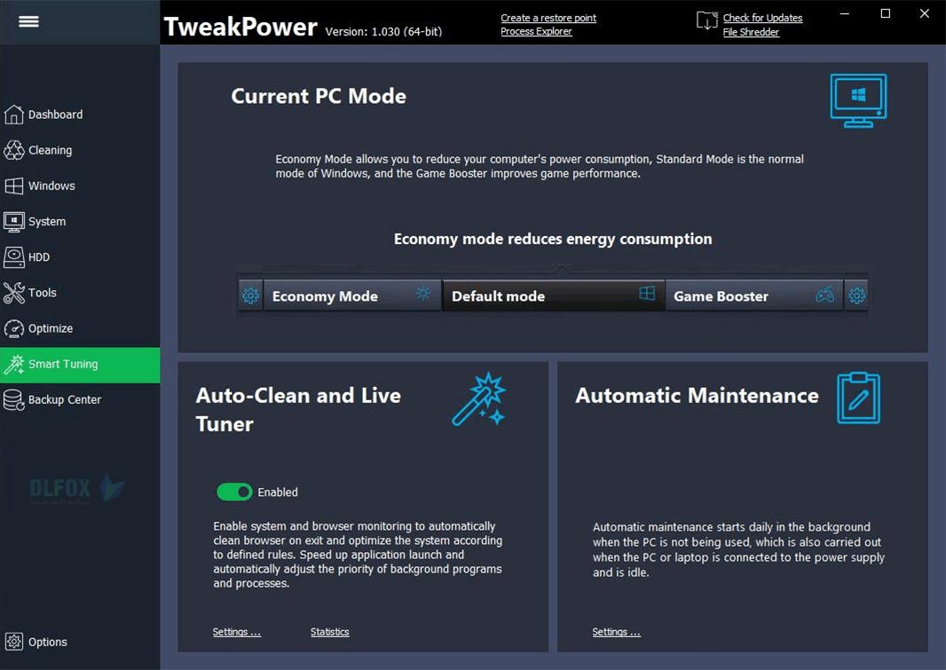 دانلود نسخه نهایی نرم افزار TweakPower برای PC