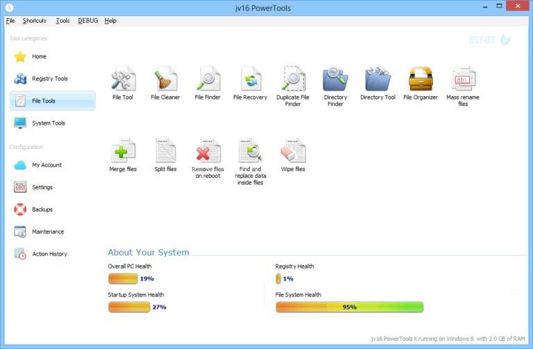 دانلود نسخه نهایی نرم افزار JV16 Power Tools برای PC