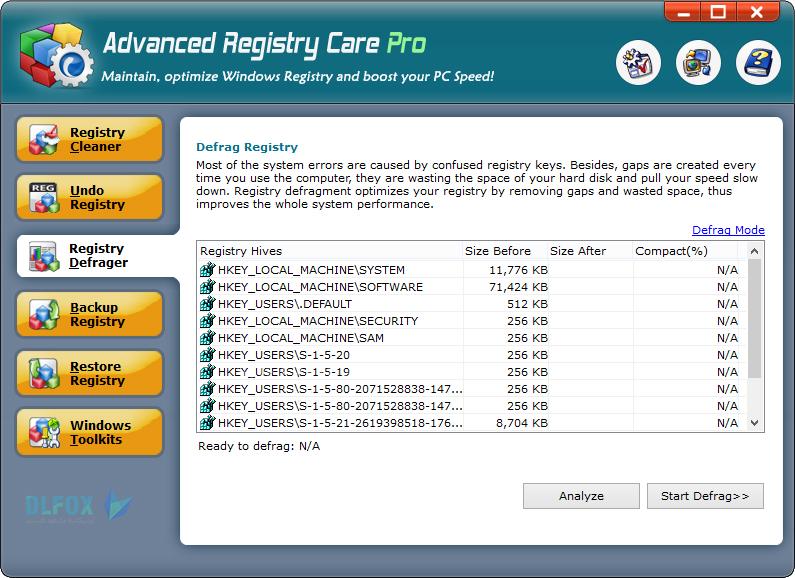 دانلود نسخه نهایی نرم افزار Advanced Registry Care برای PC