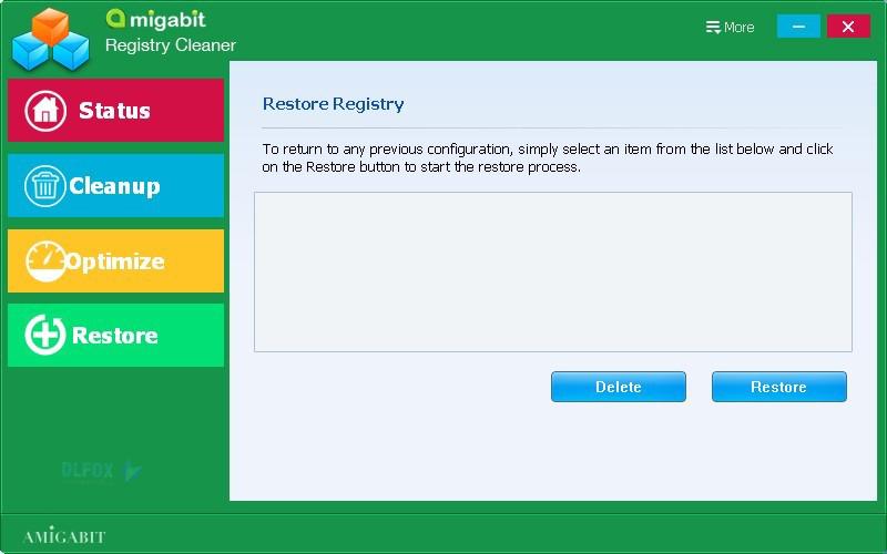 دانلود نسخه نهایی نرم افزار Amigabit Registry Cleaner برای PC