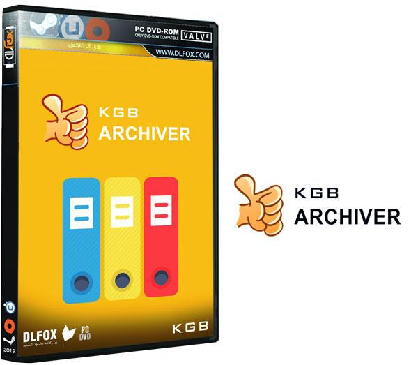 دانلود نسخه نهایی نرم افزار KGB Archiver برای PC