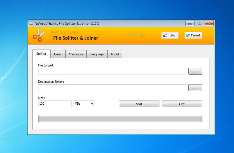 دانلود نسخه نهایی نرم افزار File Splitter and Joiner برای PC