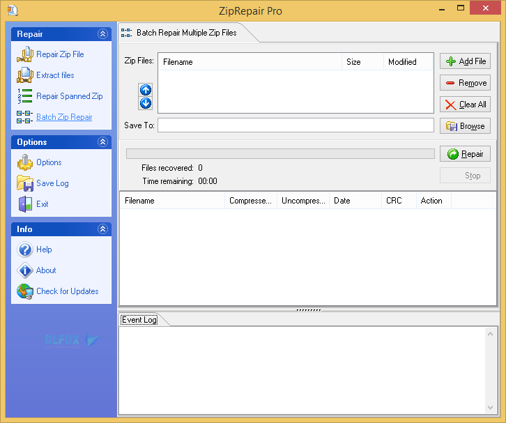 دانلود نسخه نهایی نرم افزار GetData Zip Repair برای PC