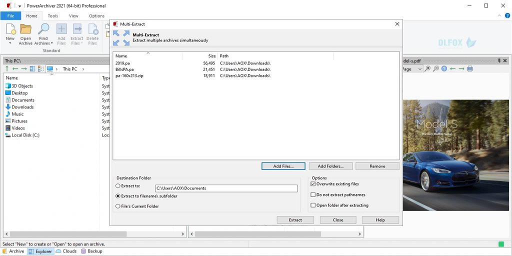 دانلود نسخه نهایی نرم افزار PowerArchiver برای PC