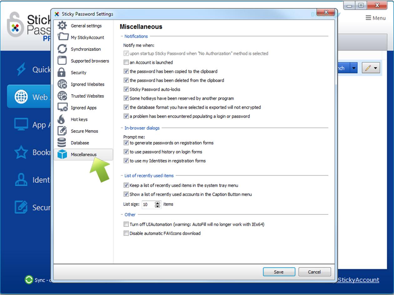 دانلود نسخه نهایی نرم افزار Sticky Password برای PC