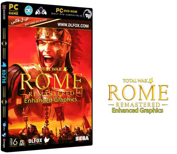 دانلود نسخه فشرده بازی TOTAL WAR: ROME REMASTERED برای PC