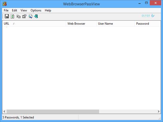 دانلود نسخه نهایی نرم افزار Web Browser Pass View برای PC