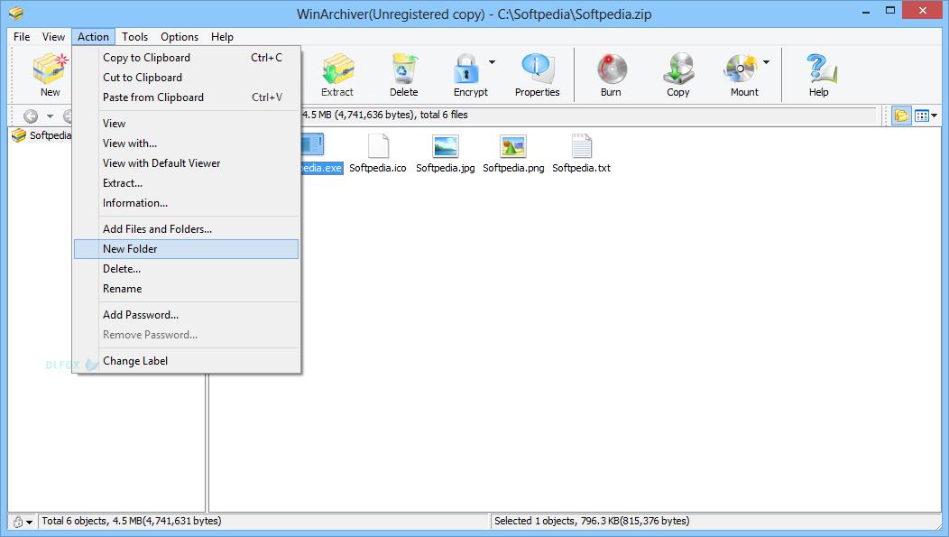 دانلود نسخه نهایی نرم افزار WinArchiver برای PC