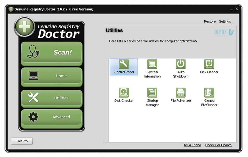 دانلود نسخه نهایی نرم افزار Genuine Registry Doctor برای PC