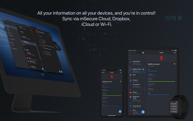 دانلود نسخه نهایی نرم افزار mSecure برای PC