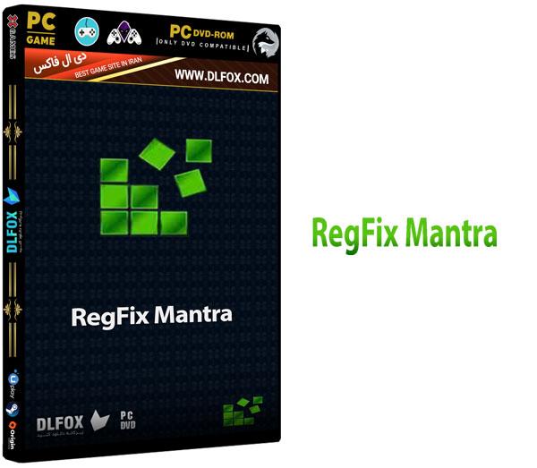دانلود نسخه نهایی نرم افزار RegistryFix Mantra برای PC