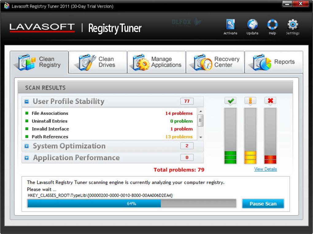 دانلود نسخه نهایی نرم افزار Lavasoft Registry Tuner برای PC