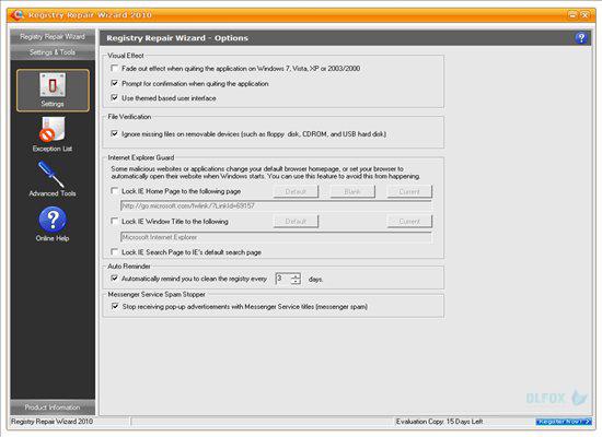 دانلود نسخه نهایی نرم افزار Registry Repair Wizard برای PC