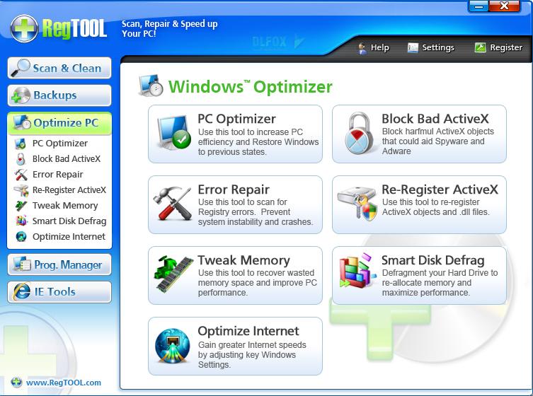 دانلود نسخه نهایی نرم افزار RegistryTool برای PC