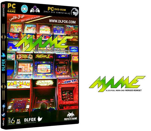 دانلود نسخه فشرده بازی MAME 0.233 FULL NON برای PC