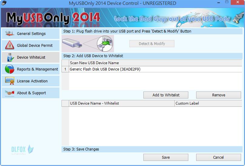 دانلود نسخه نهایی نرم افزار MyUSBOnly برای PC