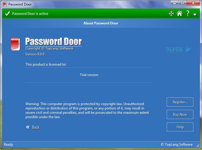 دانلود نسخه نهایی نرم افزار Password Door برای PC