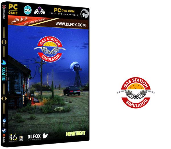 دانلود نسخه فشرده بازی GAS STATION SIMULATOR برای PC