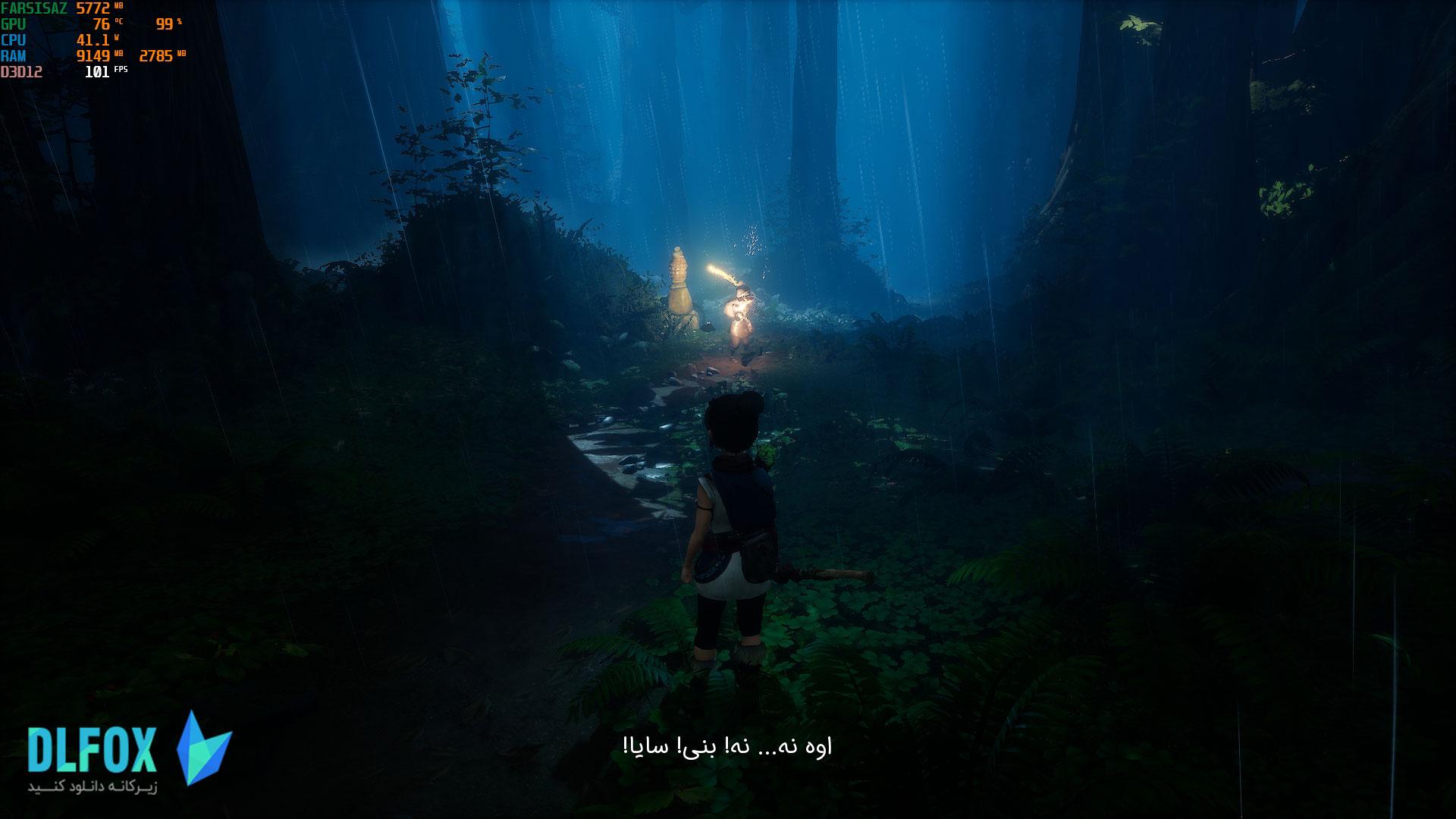 فارسی ساز بازی KENA: BRIDGE OF SPIRITS برای PC