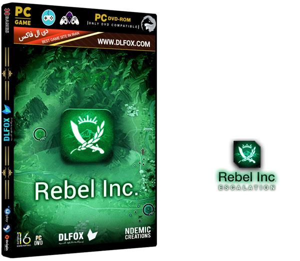 دانلود نسخه فشرده بازی REBEL INC: ESCALATION برای PC